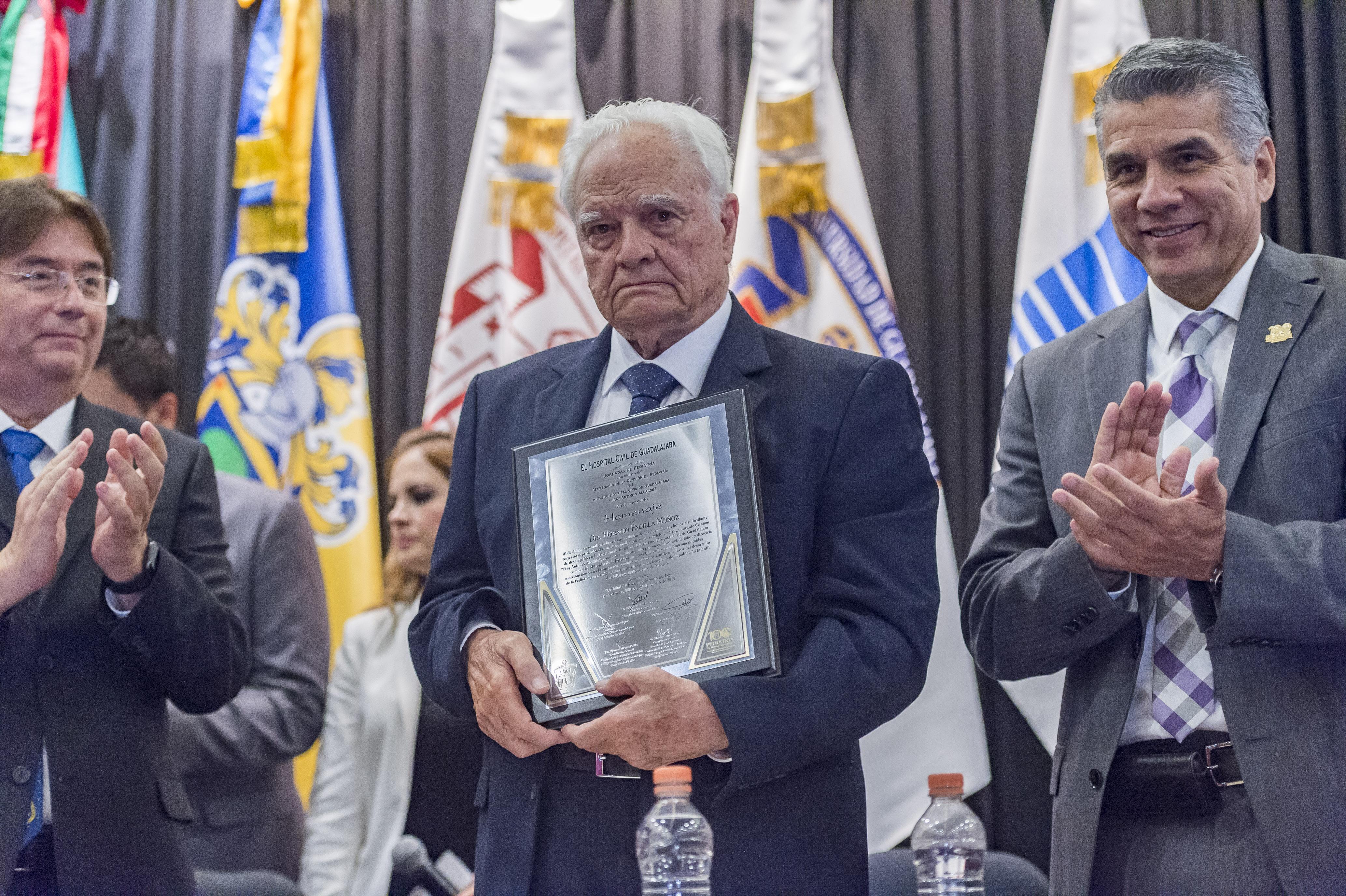 100 años de Pediatria, doctor Horacio Padilla