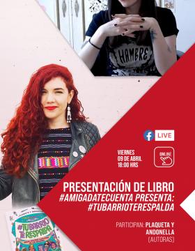 Presentación del libro: #AMIGADATECUENTA
