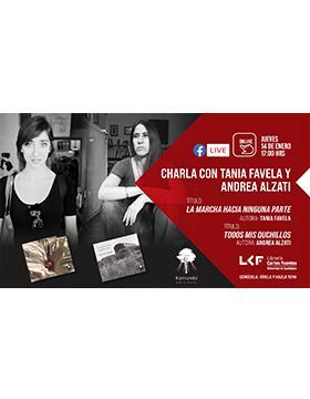 Charla con las autoras Tania Favela y Andrea Alzati