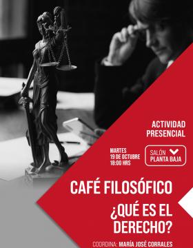 Café filosófico: ¿Qué es el derecho?