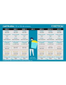 Cartelera de la Cineteca FICG. Del 10 al 16 de enero