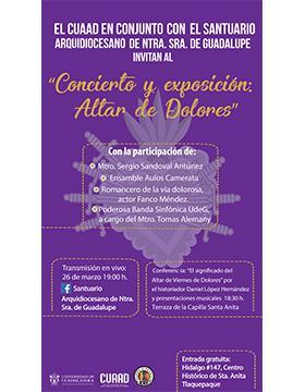 Concierto y exposición: Altar de Dolores