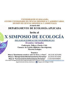 X Simposio de Ecología