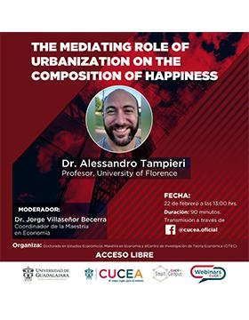 Webinar: The mediating role of urbanization on the composition of happiness