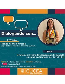 Conferencia: Retos en la lucha Grecorromana: El deporte es salud en tiempos de Covid-19