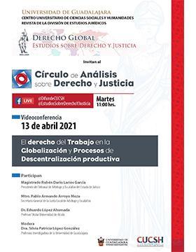 Videoconferencia: El derecho del trabajo en la globalización y procesos de descentralización productiva