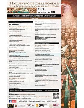 II Encuentro de Corresponsales de la Academia Mexicana de la Historia