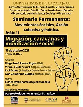 Seminario Permanente: Movimientos Sociales, Acción Colectiva y Política. Sesión 11