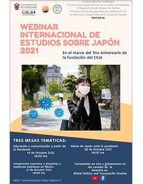 Webinar Internacional de Estudios sobre Japón 2021
