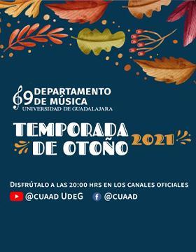 Temporada de Otoño 2021 con Dezso Salasovics, Violín y Carlos Gutiérrez, Piano