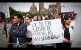 Marcha Propone UdeG acciones contra la inseguridad