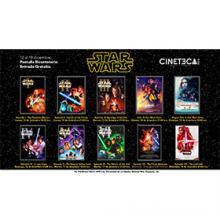Ciclo de cine: Star wars a llevarse a cabo del 12 al 19 de diciembre de las 18:30 a las 21:00 horas.