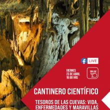 Cantinero científico: Tesoros de las cuevas: vida, enfermedades y maravillas