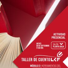 Taller de cuento de la Librería Carlos Fuentes Módulo 2: Herramientas del escritor: Tipos de figuras literarias; el símil, la metáfora y la imagen