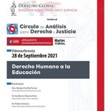 Videoconferencia: Derecho Humano a la Educación