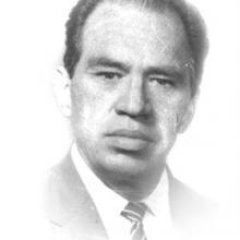 Identidad gráfica para promocionar el Homenaje en el Centenario del doctor Amado Ruiz Sánchez