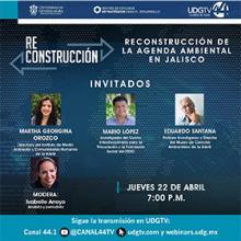 Webinar: Reconstrucción de la agenda ambiental en Jalisco