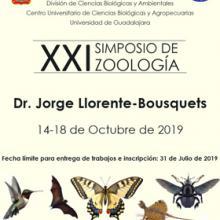Cartel para promocionar el Simposio de Zoología