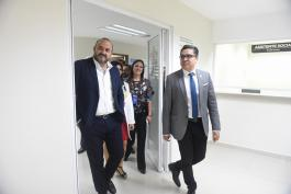 Realizan recorrido por la Unidad de Alta Especialidad Materno Infantil del Nuevo Hospital Civil de Guadalajara