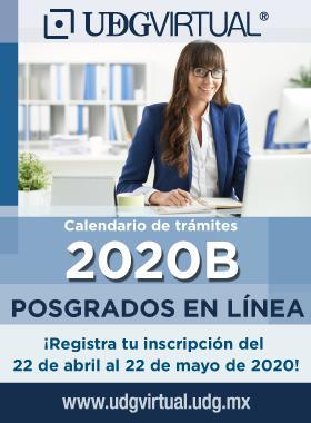 Calendario de posgrados 2020B