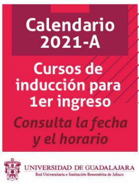Cursos de inducción, calendario 2021A