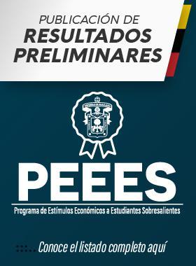 Publicación de resultados preliminares PEEES