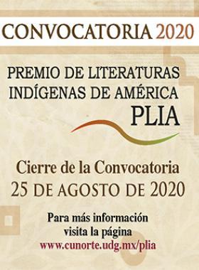 Premio de Literaturas Indígenas de América, PLIA 2020