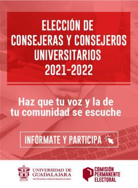 Elección de consejeras y consejeros universitarios 2021-2022