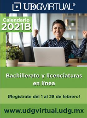 Calendario 2021B - UDGVirtual